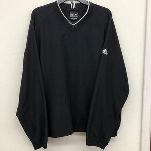 Adidas Climaproof Wind Mens Black Jacket